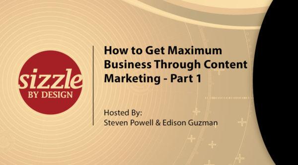 How to Get Maximum Business Through Content Marketing 1