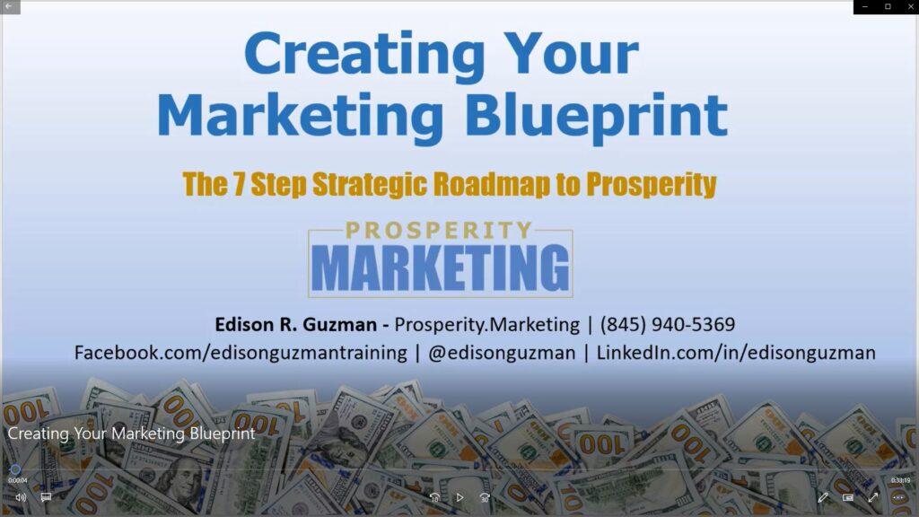 Prosperity Marketing Blueprint